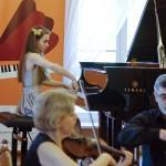 Przesłuchania grupy IV w trakcie 21. Konkursu Pianistycznego - Aleksandra Hortensja Dąbek 2013
