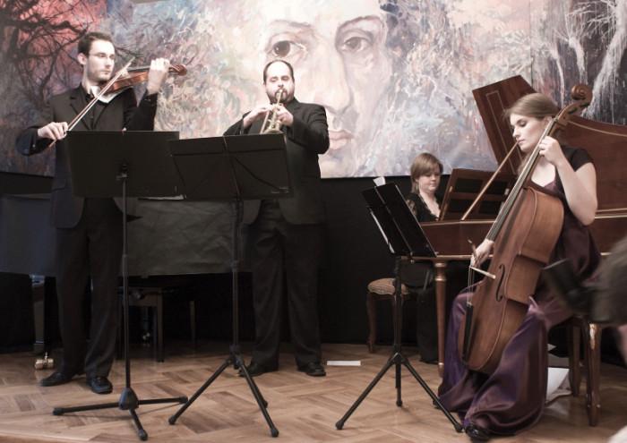 "Koncert muzyki barokowej, zespol ""Laboratoire de la Musique"", Szafarnia 2010.03.28 fot. Malgorzata Sieracka / PAFT"