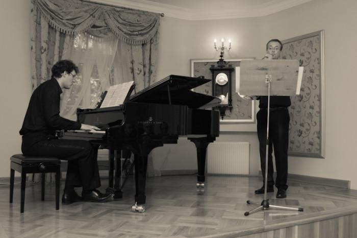 2011-10-02 Szafarnia; Muzyczne Impresje na Rog i Fortepian; fot. Tomasz Sieracki