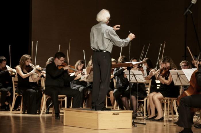 2010-09-07 Torun Koncert Mlodziezowej Orkiestry z Pampeluny; n/z Orkiestra Symfoniczna Konserwatorium im. Pablo Sarasate z Pampeluny / fot. Malgorzata Sieracka