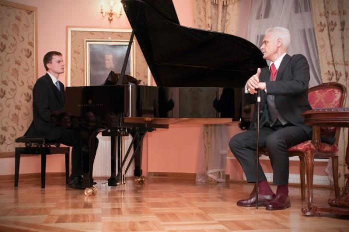 2010-11-14 Szafarnia; Spektakl muzyczno - teatralny: Fryderyk Chopin - Homo Artifex ; fot. Tomasz Sieracki / PAFT