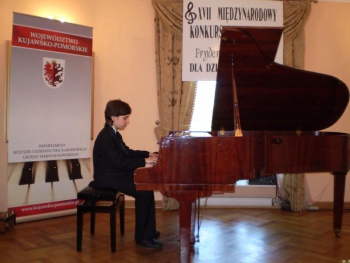 8-10.05.09 Międzynarodowy Konkurs Pianistyczny dla Dzieci i Młodzieży im. F.Chopina
