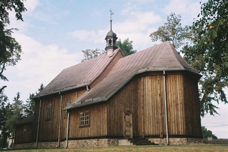 Dulsk - Kościół p.w. Wniebowzięcia NMP - fot.A.Hermann