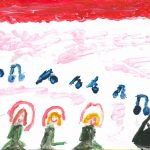 """Nina (6 lat) """"Preludium A-dur"""""""