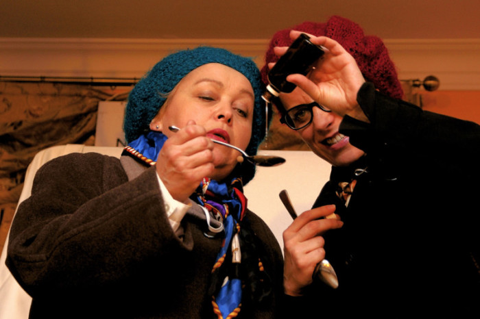"""13.06.2010 Szafarnia; Badzcie zdrowi """"Zdrowko"""" - spektakl muzyczno-teatralny Kabaretu Krzysztofa Zaremby"""