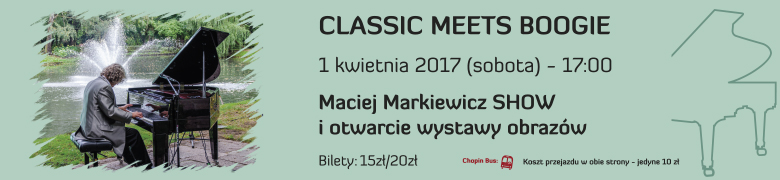 CLASSIC MEETS BOOGIE 1.04.2017